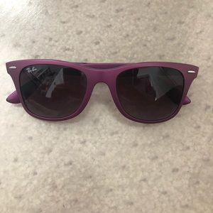 Purple Matte Ray Ban